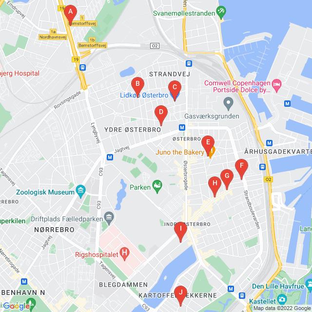 Genbrugsbutikker i København Ø