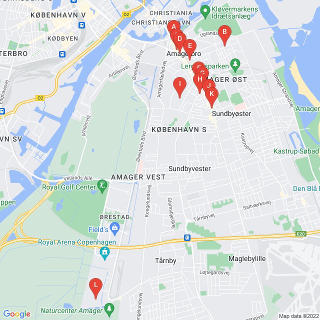 Genbrugsbutikker i København S