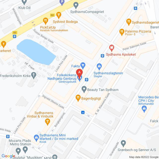 Genbrugsbutikker i København SV