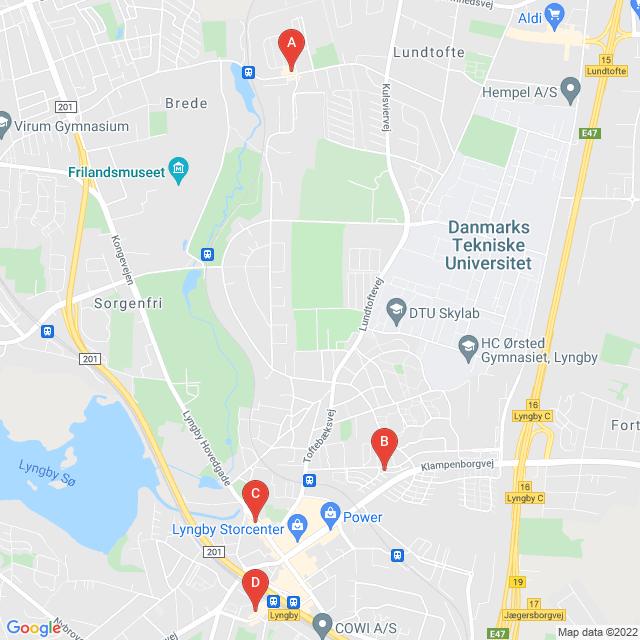 Genbrugsbutikker i Kongens Lyngby