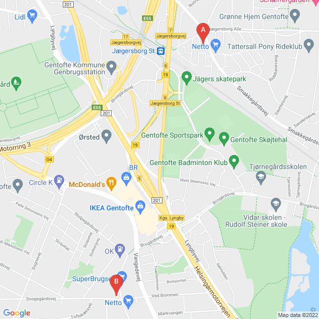 Genbrugsbutikker i Gentofte