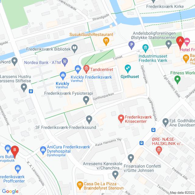 Genbrugsbutikker i Frederiksværk