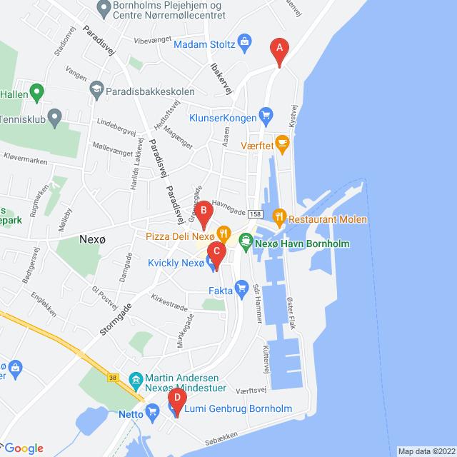 Genbrugsbutikker i Nexø