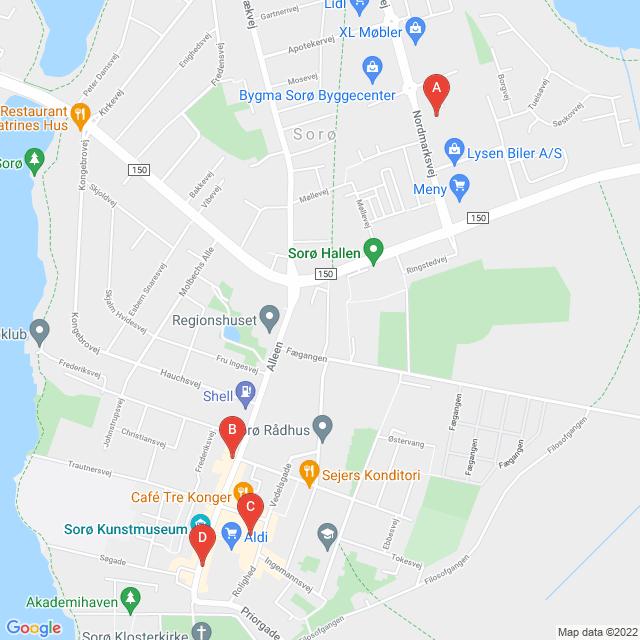 Genbrugsbutikker i Sorø