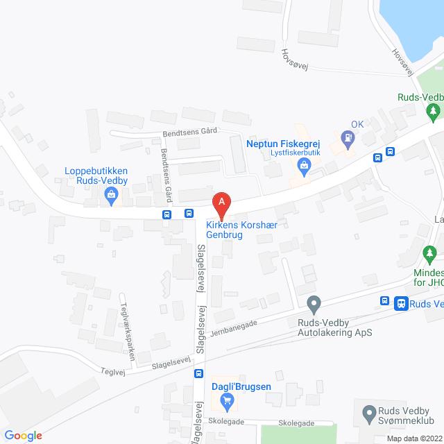 Genbrugsbutikker i Ruds Vedby