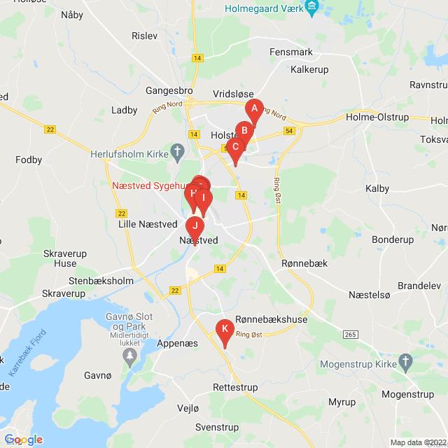 Genbrugsbutikker i Næstved
