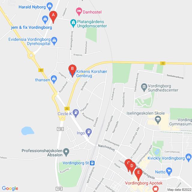Genbrugsbutikker i Vordingborg