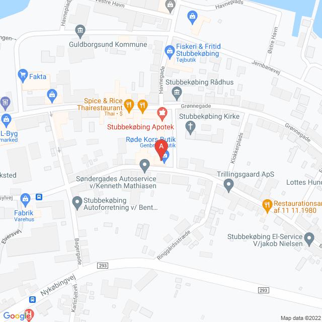 Genbrugsbutikker i Stubbekøbing
