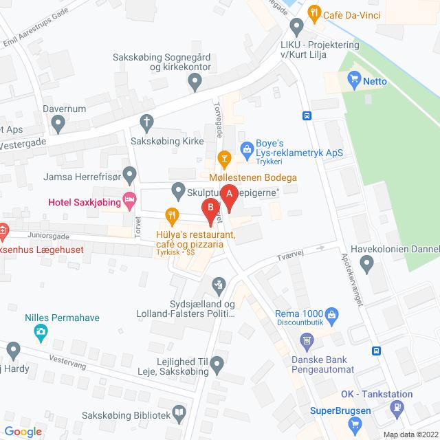 Genbrugsbutikker i Sakskøbing