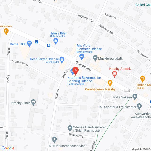 Genbrugsbutikker i Odense N