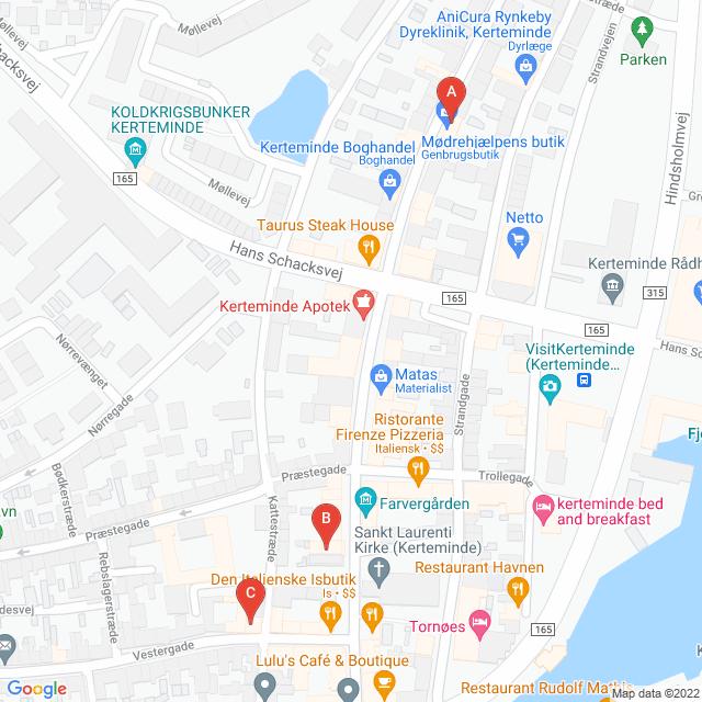 Genbrugsbutikker i Kerteminde