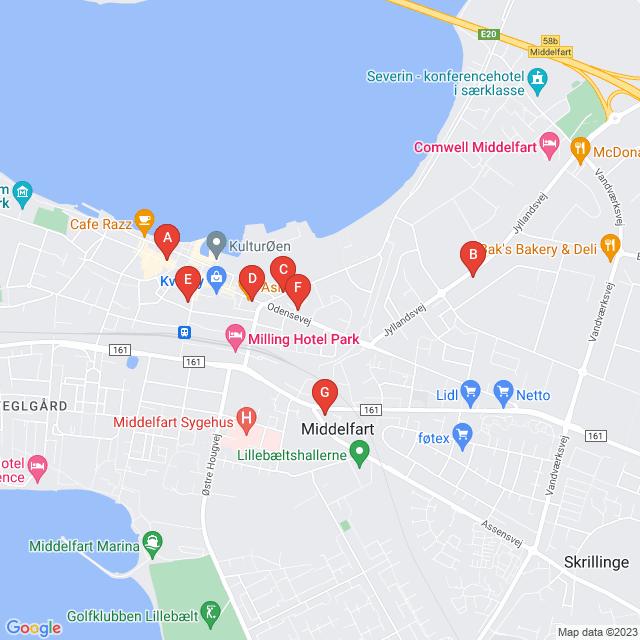 Genbrugsbutikker i Middelfart