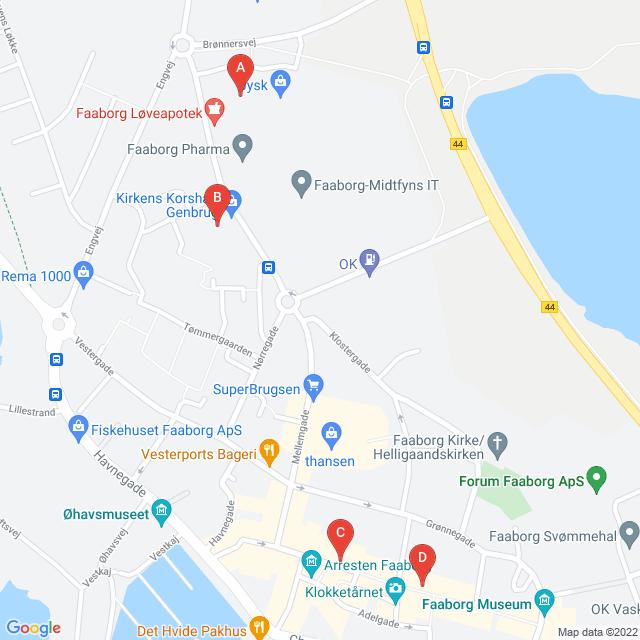 Genbrugsbutikker i Faaborg