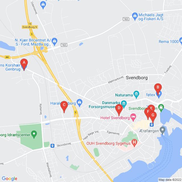 Genbrugsbutikker i Svendborg