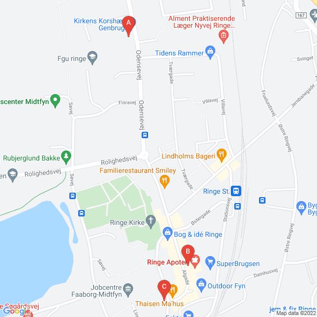 Genbrugsbutikker i Ringe