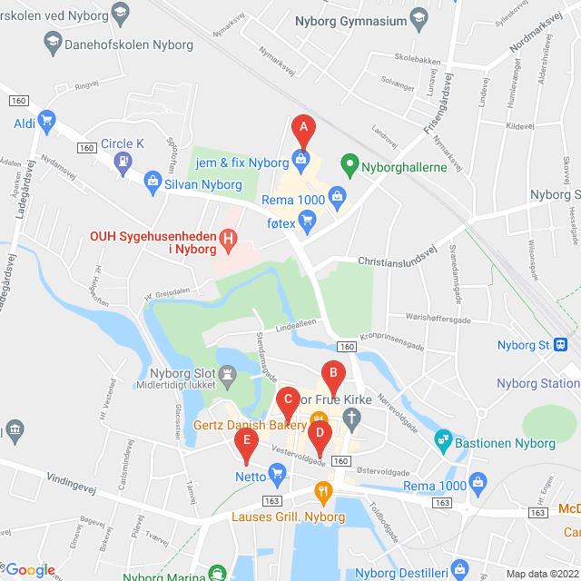 Genbrugsbutikker i Nyborg