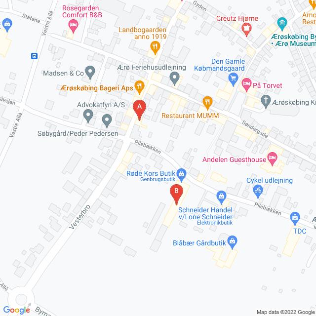 Genbrugsbutikker i Ærøskøbing