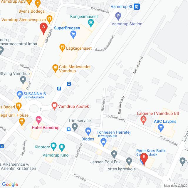 Genbrugsbutikker i Vamdrup