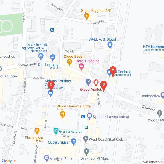 Genbrugsbutikker i Ølgod