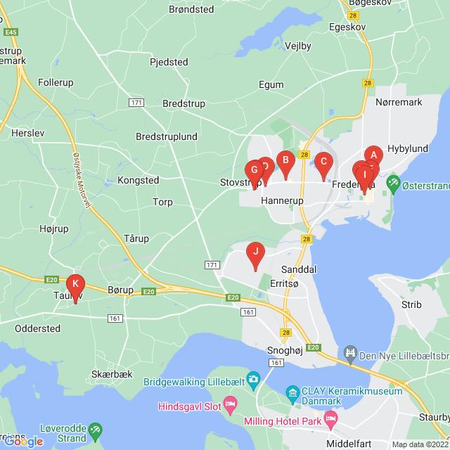 Genbrugsbutikker i Fredericia