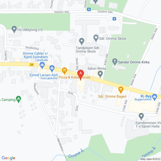 Genbrugsbutikker i Sønder Omme