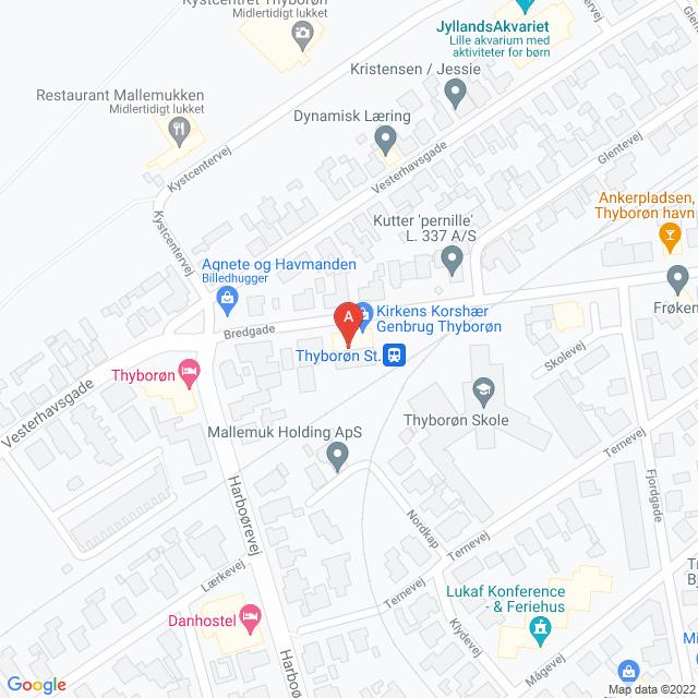 Genbrugsbutikker i Thyborøn