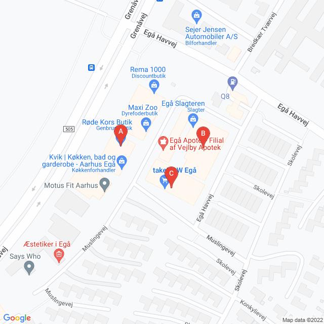 Genbrugsbutikker i Egå
