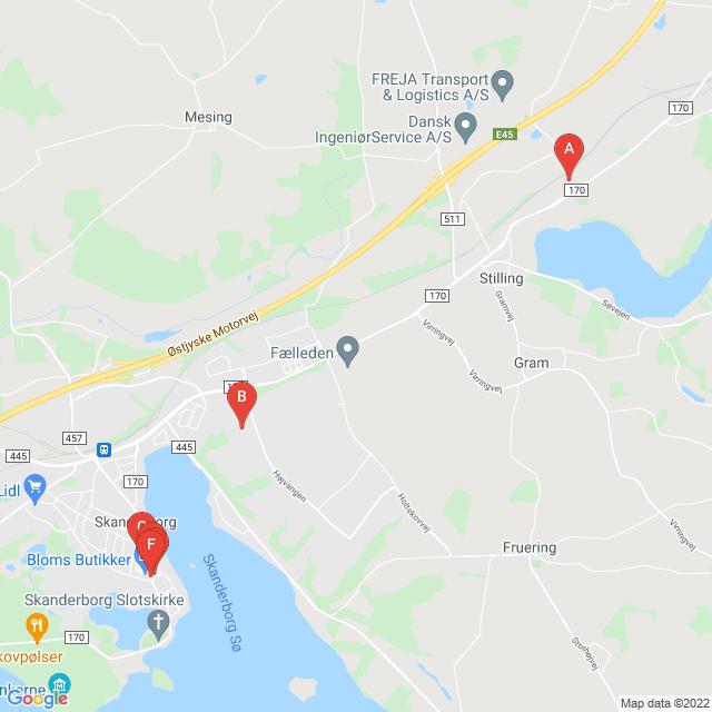 Genbrugsbutikker i Skanderborg