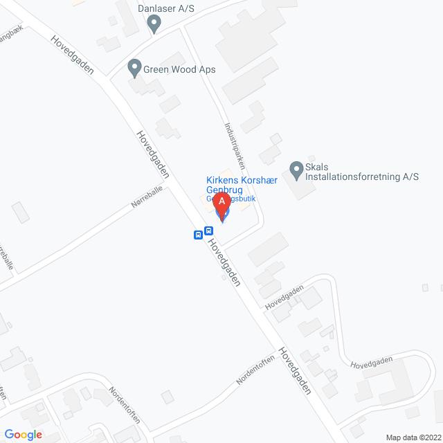 Genbrugsbutikker i Skals