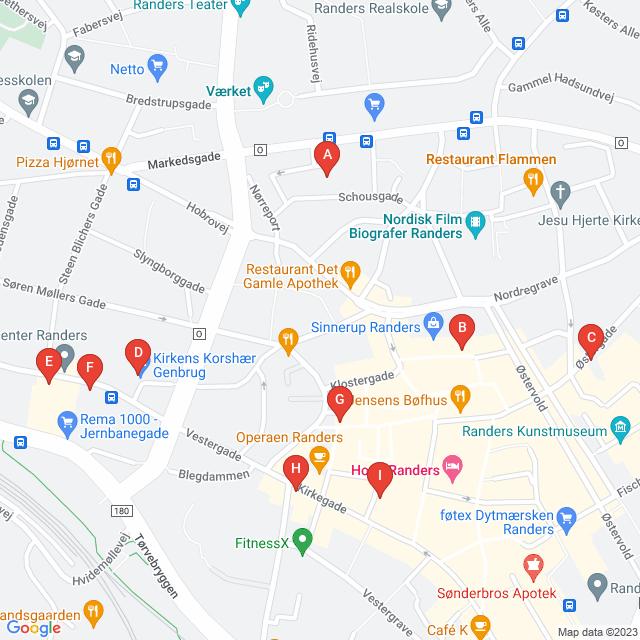 Genbrugsbutikker i Randers C