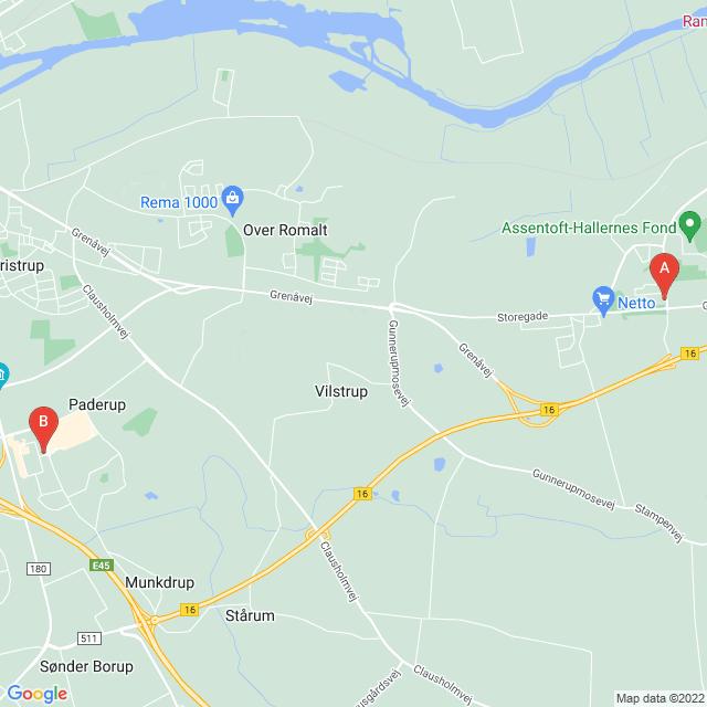 Genbrugsbutikker i Randers SØ