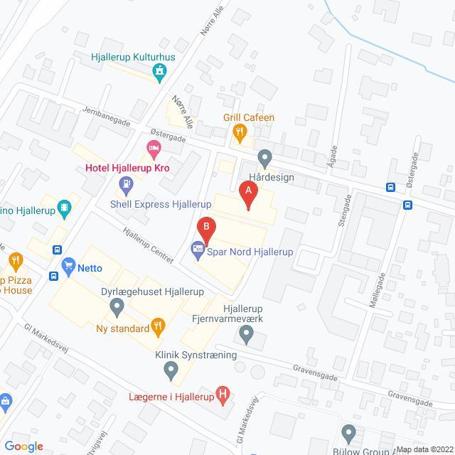 Genbrugsbutikker i Hjallerup