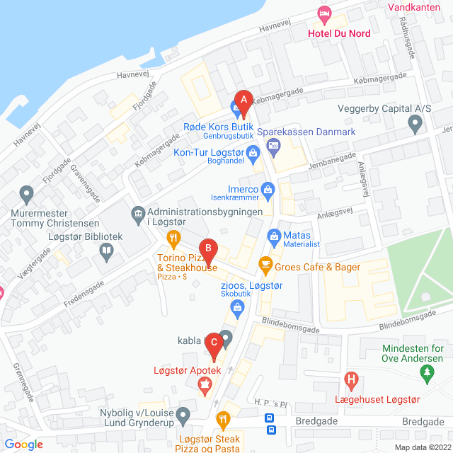 Genbrugsbutikker i Løgstør